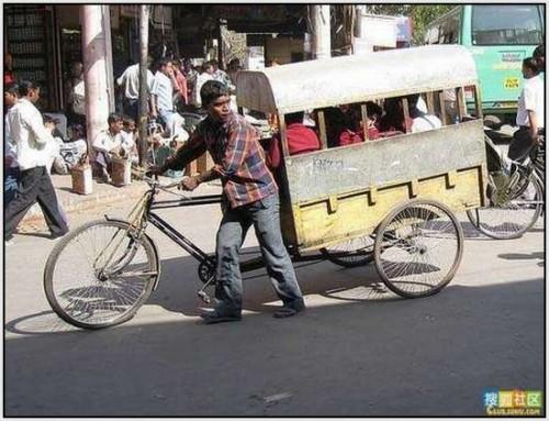Ĺkolski autobus Indija 17
