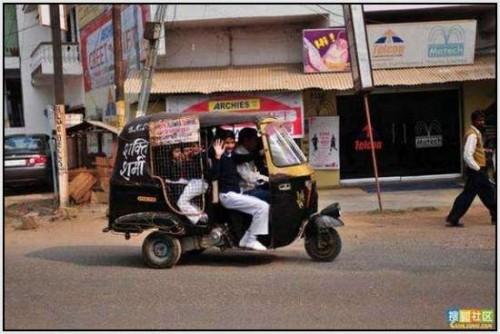 Ĺkolski autobus Indija 32