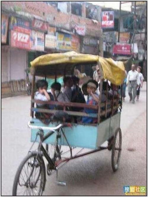 Ĺkolski autobus Indija 33
