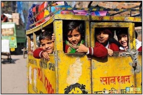 Ĺkolski autobus Indija