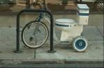 Bicikl wc školjka