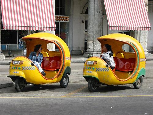 Coco Taxi Cuba