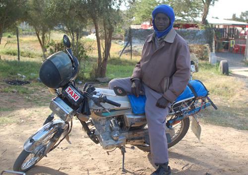 Motorcycle Taxi Kenya