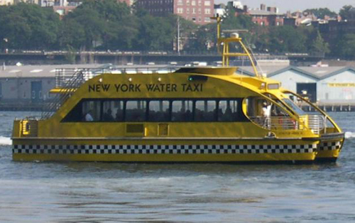Taxi brod New York