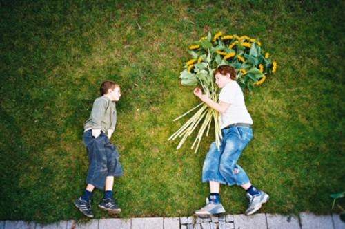 Dječaci s cvijećem