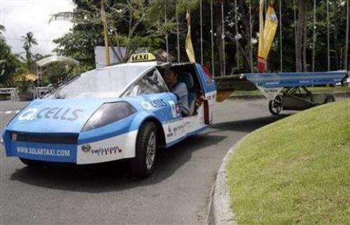 Solarni Taxi