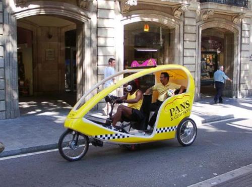 Bicikl taxi Ĺpanjolska