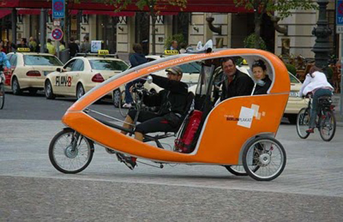 Bicikl taxi Berlin NjemaÄŤka