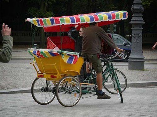 Bicikl taxi Berlin, NjemaÄŤka