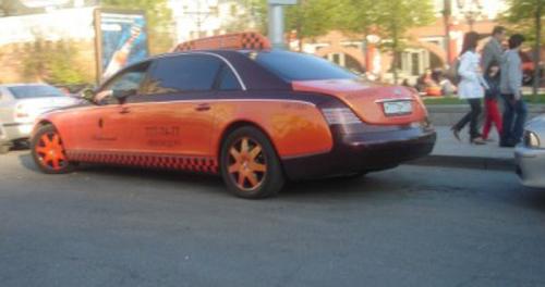 Maybach Taxi Moskva Rusija