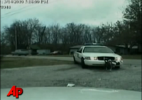 Dog Attacks Police Cruiser