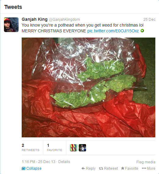 Some People Want Just Weed For Christmas