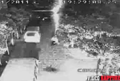 Man Walks Away From Lightning Strike