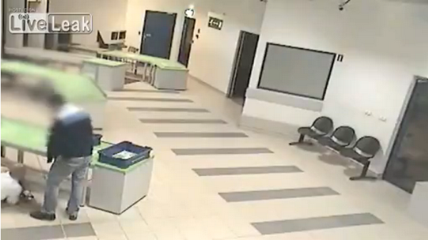 Airport Security Saves Baby In Amazing Catch