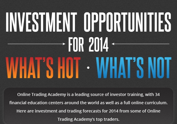 Investment Opportunities Projections for 2014 [Infographic]