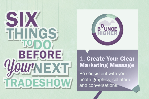 6 Things To Do Before Your Next Trade Show [Infographic]